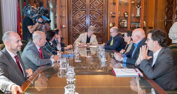 Zaragoza pide corredor Cantábrico Mediterráneo
