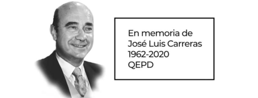 Premio CEL, José Luis Carreras